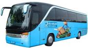 V autobusu VV do Žitavy to žilo. Padala jména Kalousek, Kočí, Peake i Babiš