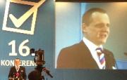 První projev předsedy VV Víta Bárty