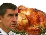Nebezpečný výrobek: Na pranýři skončilo Babišovo kuře a sekaná
