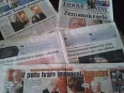 FOTO: Ranní zhnusení z novin. Leden nebo červen, jen když kopou do Zemana