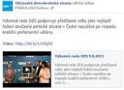 Kéž nedostanou nad 5%: Fanoušci ODS vyplísnili stranu na facebooku