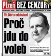 Poslední vydání PBC: Bárta prozradil, proč kandiduje na Plzeňsku
