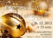 Pražský koncert VV. Přijďte rozjímat do kostela sv. Jana Křtitele!